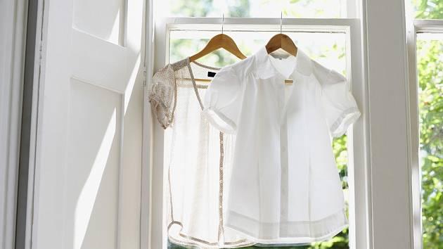 Vaječné skořápky pomohou vybělit oblečení