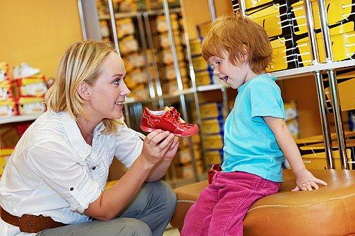 dětské boty kupovat ve specializovaných prodejnách