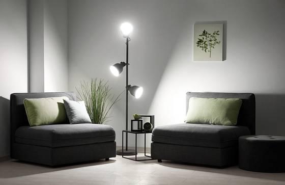 Více světelných zdrojů poskytne dostatek světla