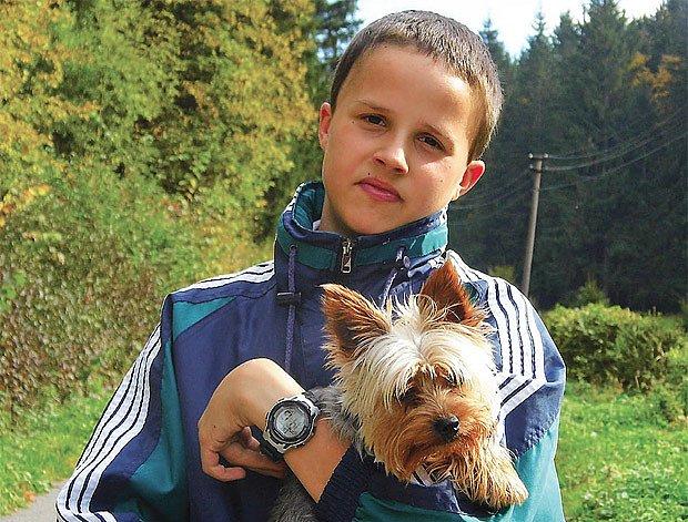 Tomáš, pes a foťák jsou nerozlučná trojka