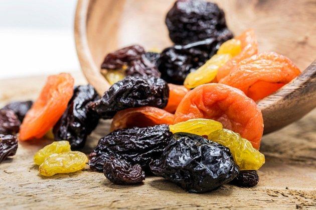 Konzumace sušené ovoce při dietě není příliš ideální.