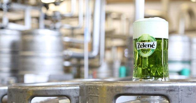 Zelená piva se pomalu zabydlují i u nás.