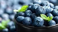 Borůvky jsou plné prospěšných antioxidantů