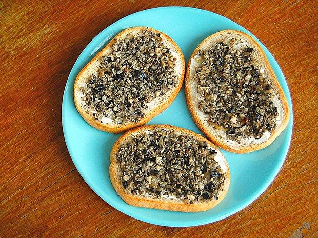 houbový kaviár