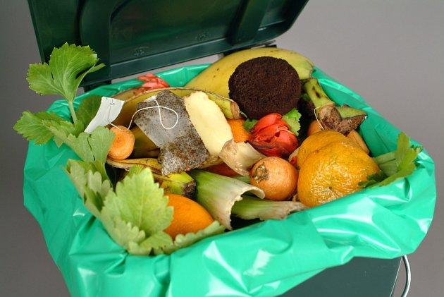 Biologický odpad lze kompostovat i doma