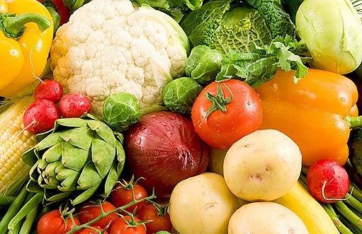 skladování zeleniny