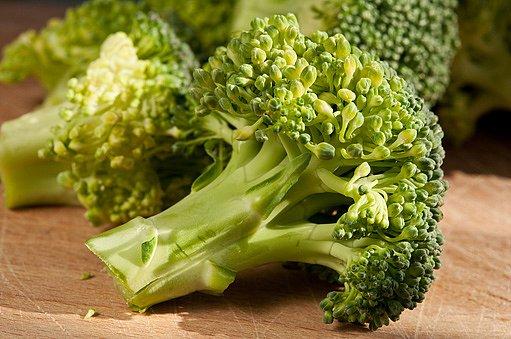bohatým zdrojem zinku je například brokolice