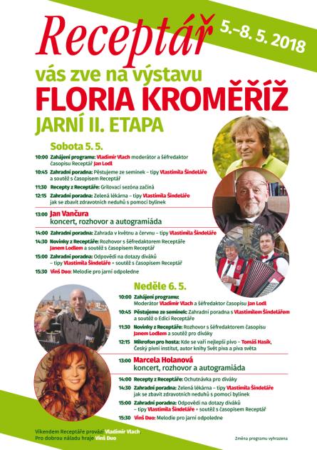 Floria Kroměříž, 2018