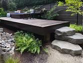 Přírodní kámen najde v zahradě široké uplatnění.