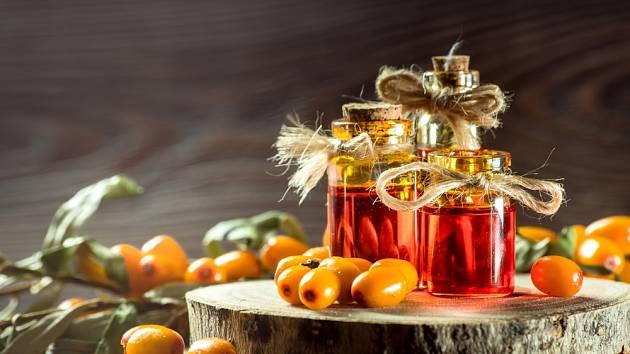 Rakytník řešetlákový je dokonalým zdrojem zdraví prospěšných látek.