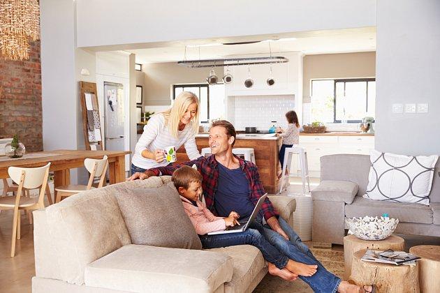 Čtyřčlenná rodina má na bydlení zcela odlišné požadavky.