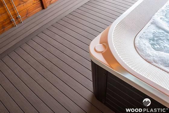 Terasa od WPC - WoodPlastic, produktová řada Terafest