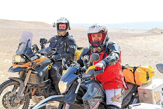 Martin Zounar - jako motorkář