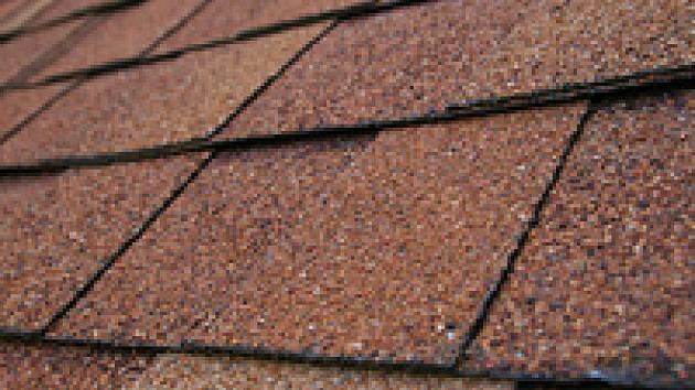Asfaltový šindel - střecha