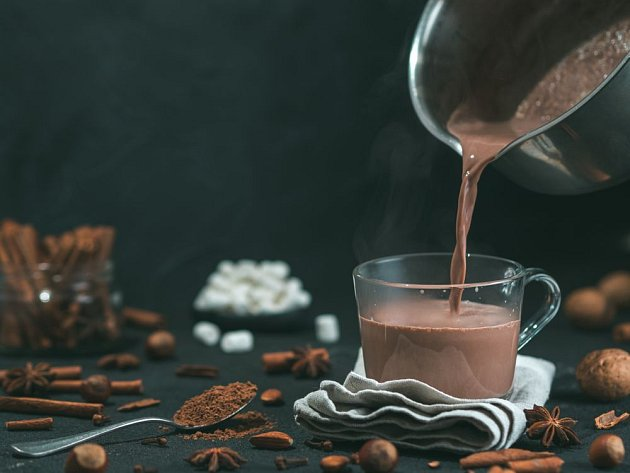 Kakao je symbolem pohody a dobrou náladu skutečně pomáhá navodit