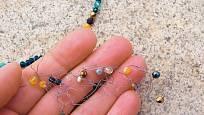 navlékání korálků