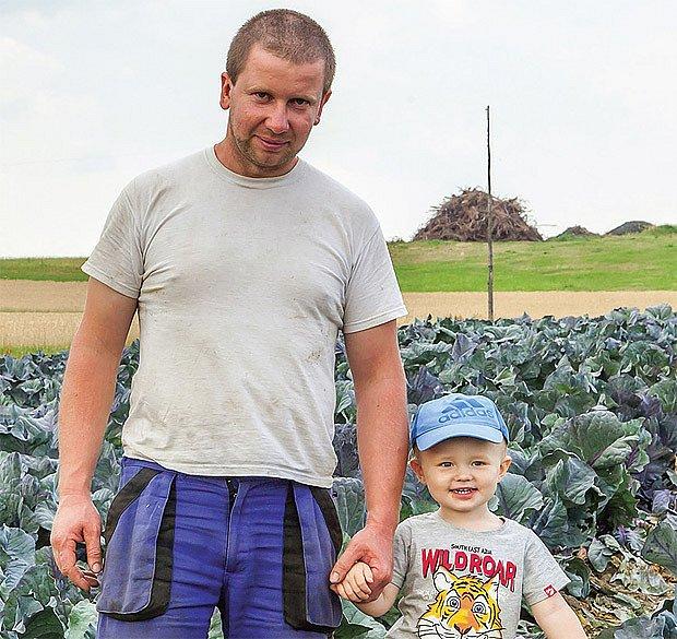 Zdeněk Vondrák - pěstitel vysockého zelí