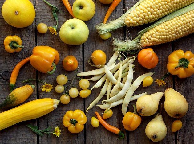 Plody žluté se nejlépe hodí pro Panny