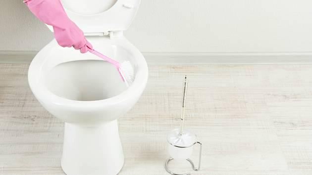 Vyčistěte vodní kámen i z toalety pomocí běžných surovin.