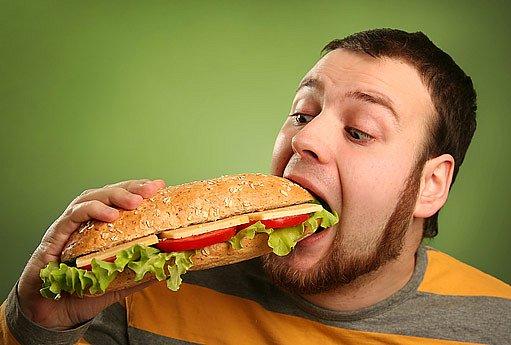 hltání jídla nám neprospívá
