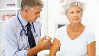 injekce na zmírnění bolesti