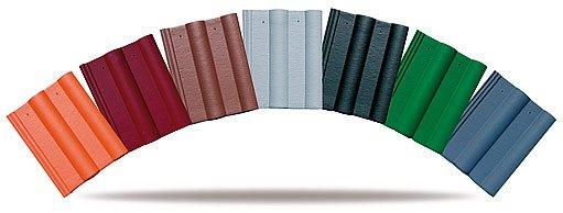 Na výběr široká paleta barev.