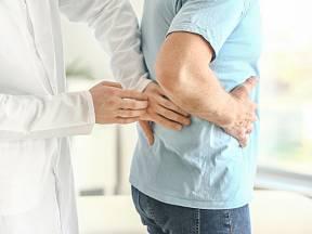 Vyšetření ledvin.