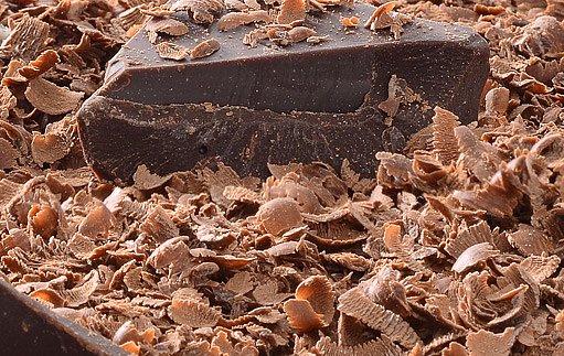 strouhaná čokoláda