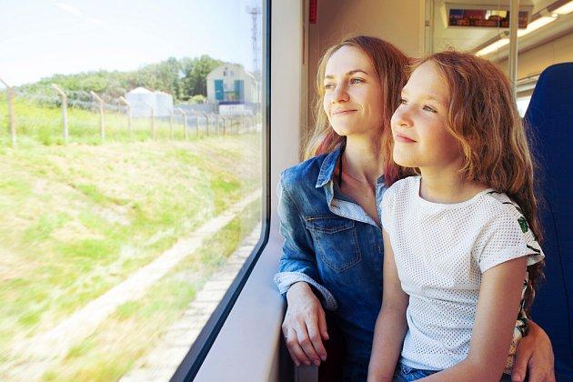 Ve vlaku je pohyb i zábava