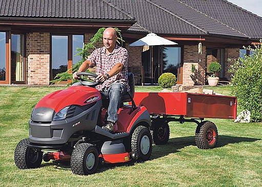 vozík, zahradní traktor
