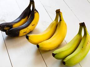 Banány dozrávají velmi rychle.