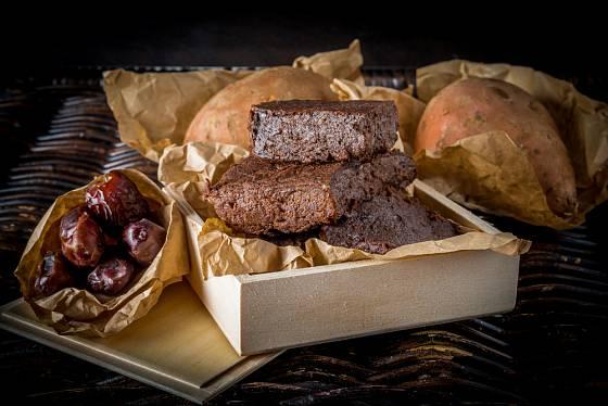 Dietní varianta klasických čokoládových brownies.