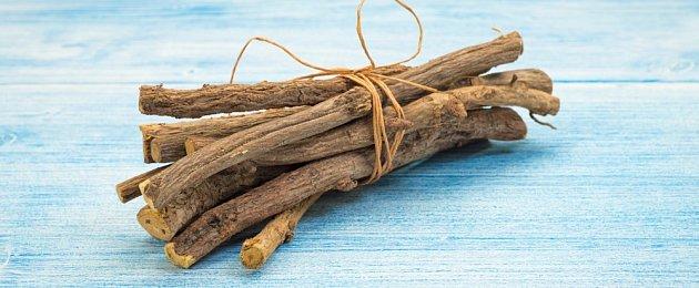 kořen lékořice lysé