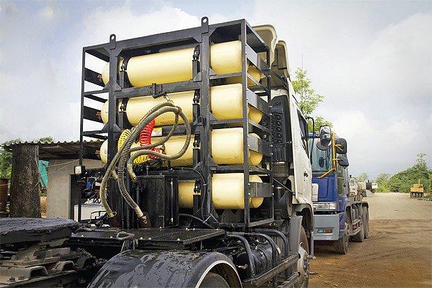 Nádrže na stlačený zemní plyn CNG zabírají hodně místa. Toto palivo se hodí spíš pro větší vozidla