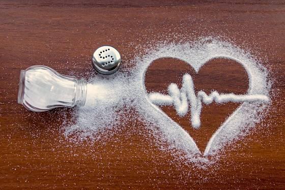 Příliš mnoho soli škodí srdci
