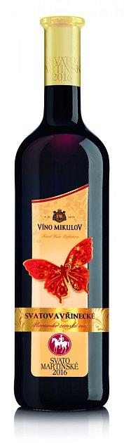 Svatomartinské Víno Mikulov Svatovavřinecké