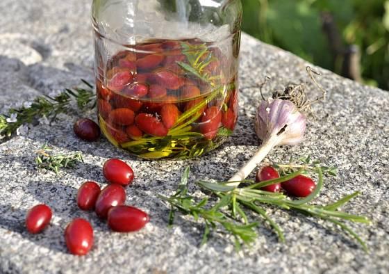 Dřínky na způsob oliv.