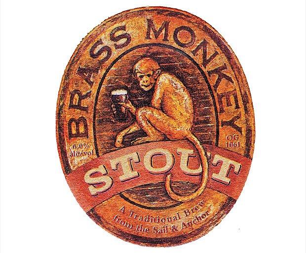 tácek propaguje silné pivo typu stout