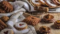 Vánoční cukroví z křehkého těsta se rozplývá na jazyku