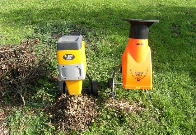 Drtič a štěpkovač jsou odlišné jak technologií tak efektivitou práce.