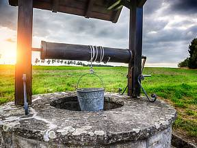 Studna je zdroj užitkové i pitné vody