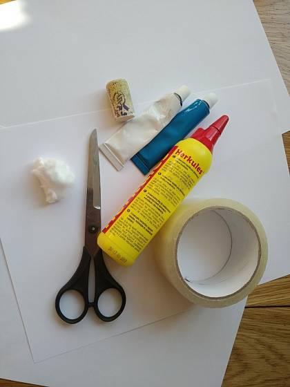 Výroba zajíčka z věcí, které máte doma
