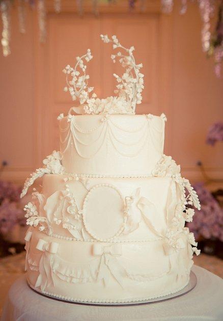 V 50. letech byly dorty velké a hodně zdobené