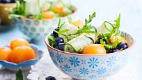 Nebojte se zkombinovat s melounem i okurku a borůvky.