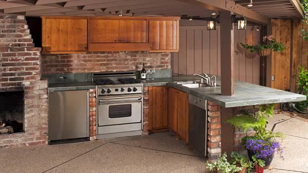 Va me venku stav me a za izujeme zahradn kuchyni - Cocinas de exterior con barbacoa ...