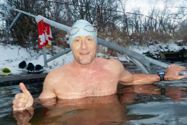 Otakar Zemek, propagátor zimního plavání