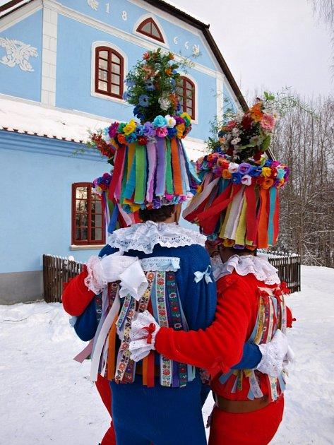 Tanec Turků na Veselém Kopci.