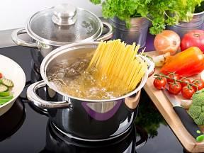 Vodu z těstovin bereme jako vedlejší produkt, který patří do odtoku.