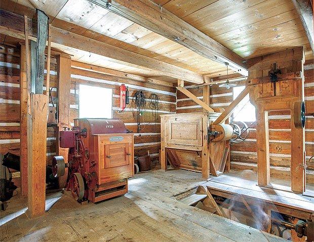 Vchod na mlýnici – loupačka