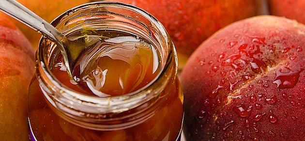 zavařování - broskvová marmeláda